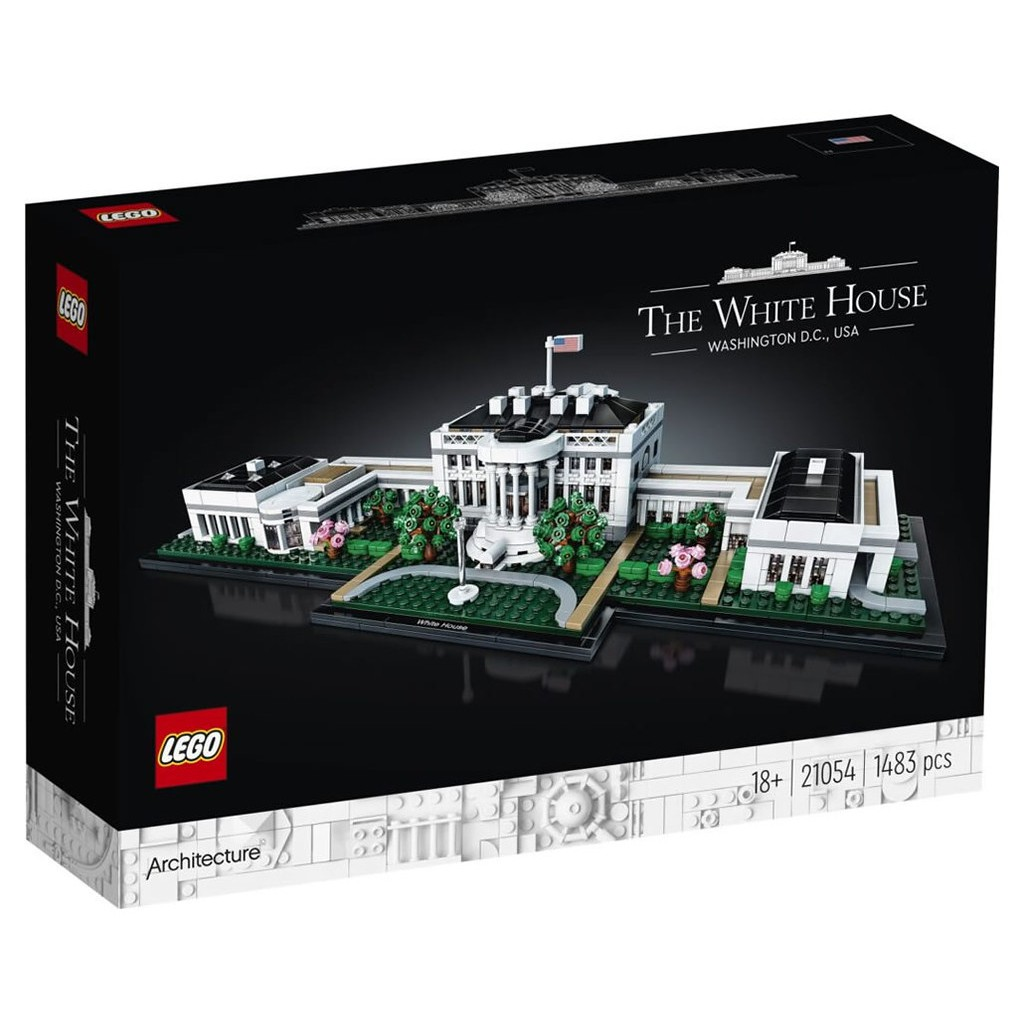 LEGO 樂高 21054 The White House 白宮