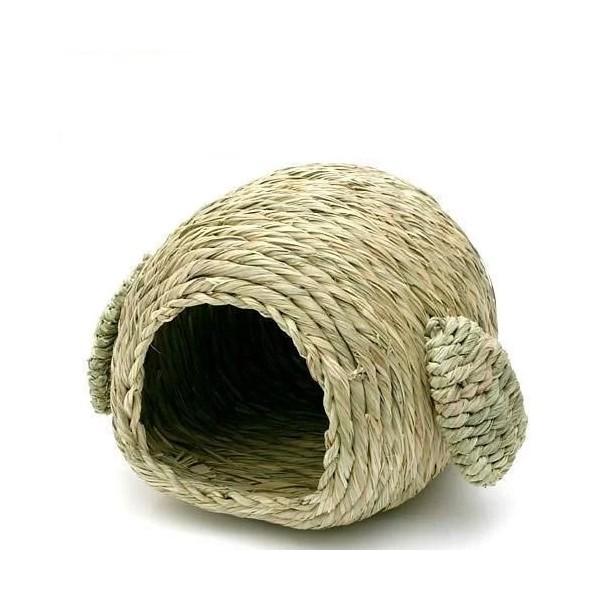 ★Petshop寵物網★日本MARUKAN 精緻提摩西草兔窩 (小/大)