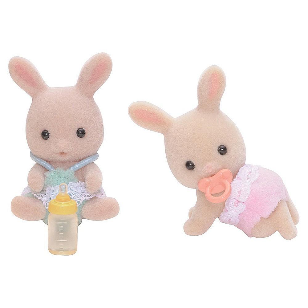 森林家族 牛奶兔雙胞胎