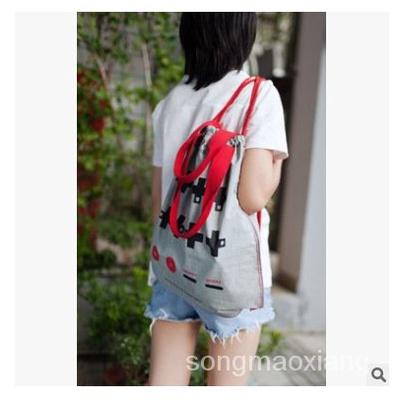 【當天發貨】八位堂8Bitdo束口抽繩單雙肩包男女通用背包防水輕便折疊手提袋