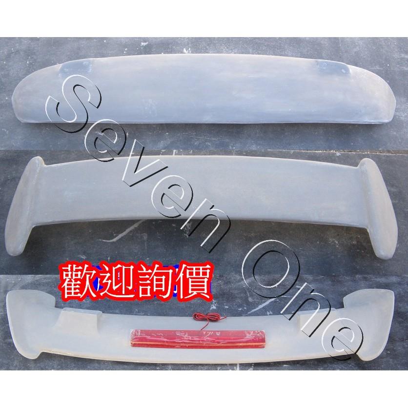 ☆ SEVEN ONE ☆ HONDA CIVIC K8 (3門) T-R 尾翼 (含LED燈)(空力套件)