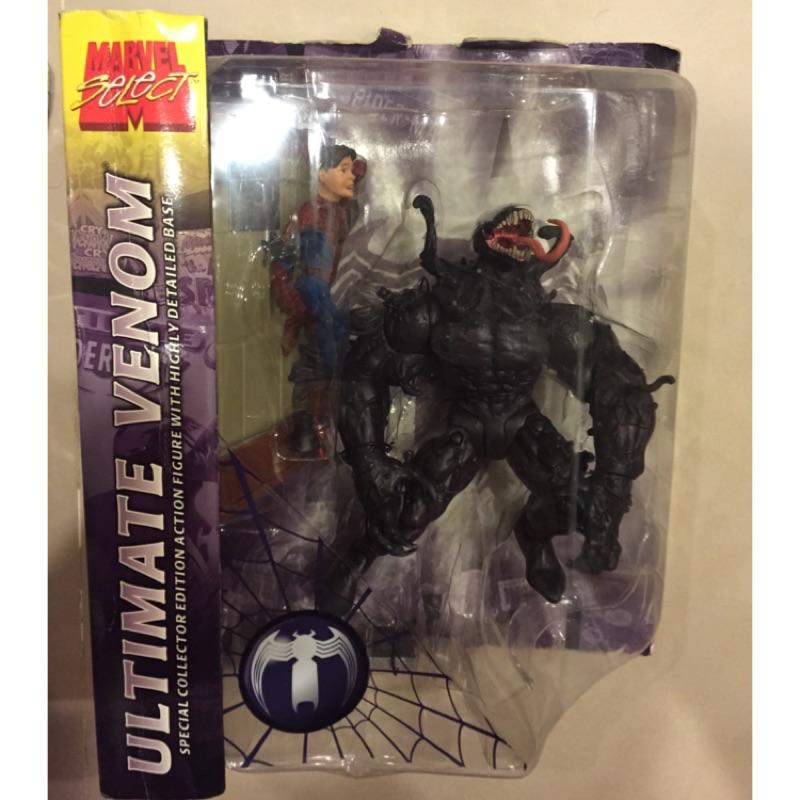 Marvel select marvel legends Toybiz toy biz 猛毒 Venom 隱藏版