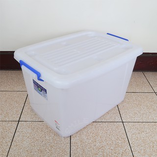 聯府多用途滑輪整理箱85L玩具收納箱衣物分類箱K801 臺中市