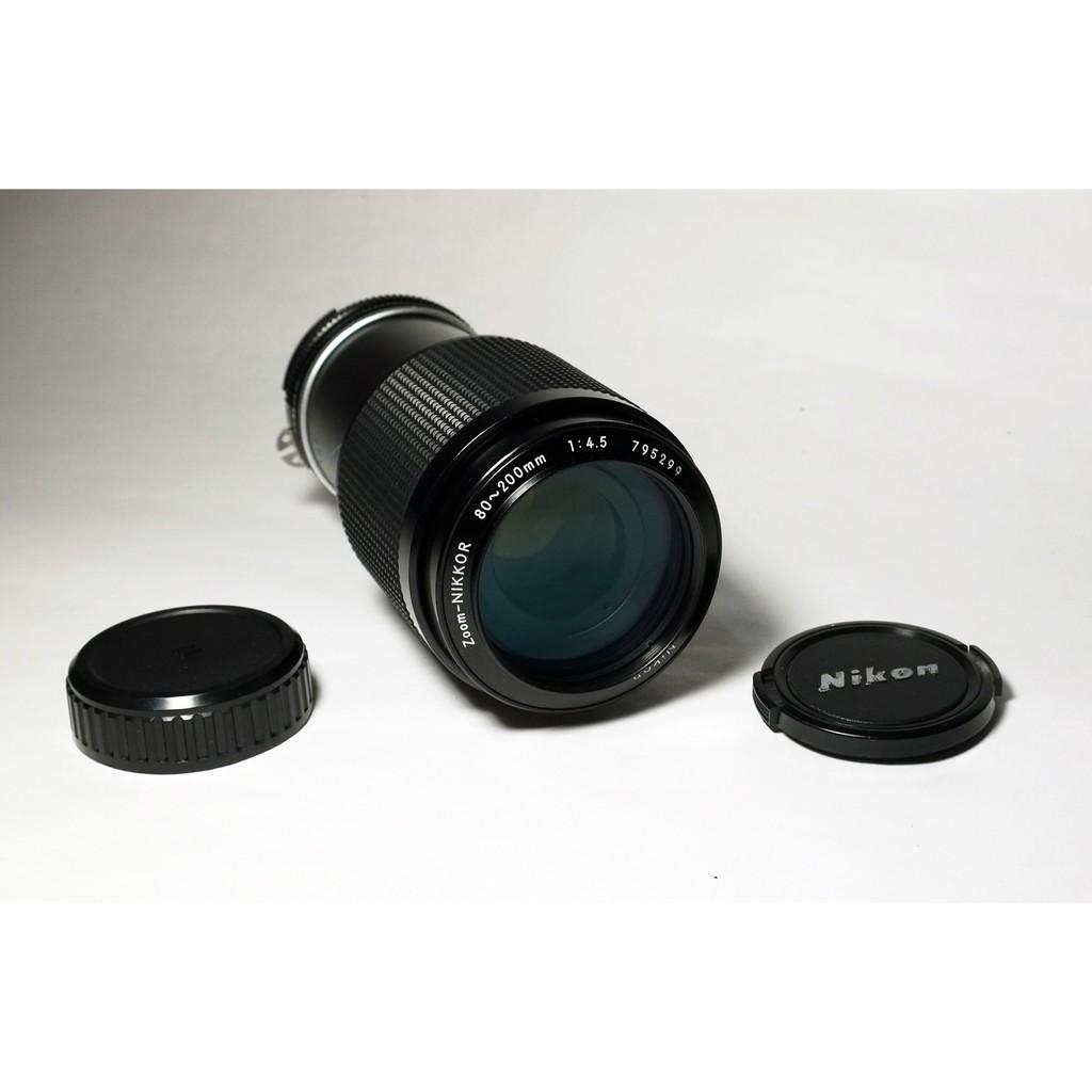 [ 慢調思理 ] 美品級 AI Nikon 80~200mm F4.5 恆定光圈 .表現優異變焦鏡