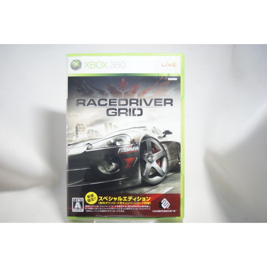 [耀西]二手 純日版 XBOX 360 極速房車賽:街頭賽車 RACEDRIVER GRID 英文字幕 含稅附發票