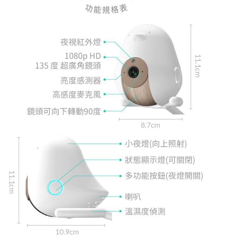 [紅人商品] Cubo AI智慧成長型寶寶攝影機|給寶寶最聰明的安全守護