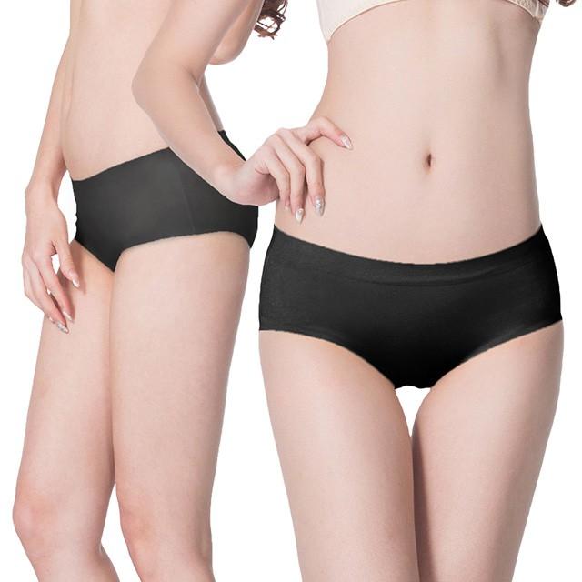 【K's凱恩絲】舒適純棉褲底素色內褲S63款黑色