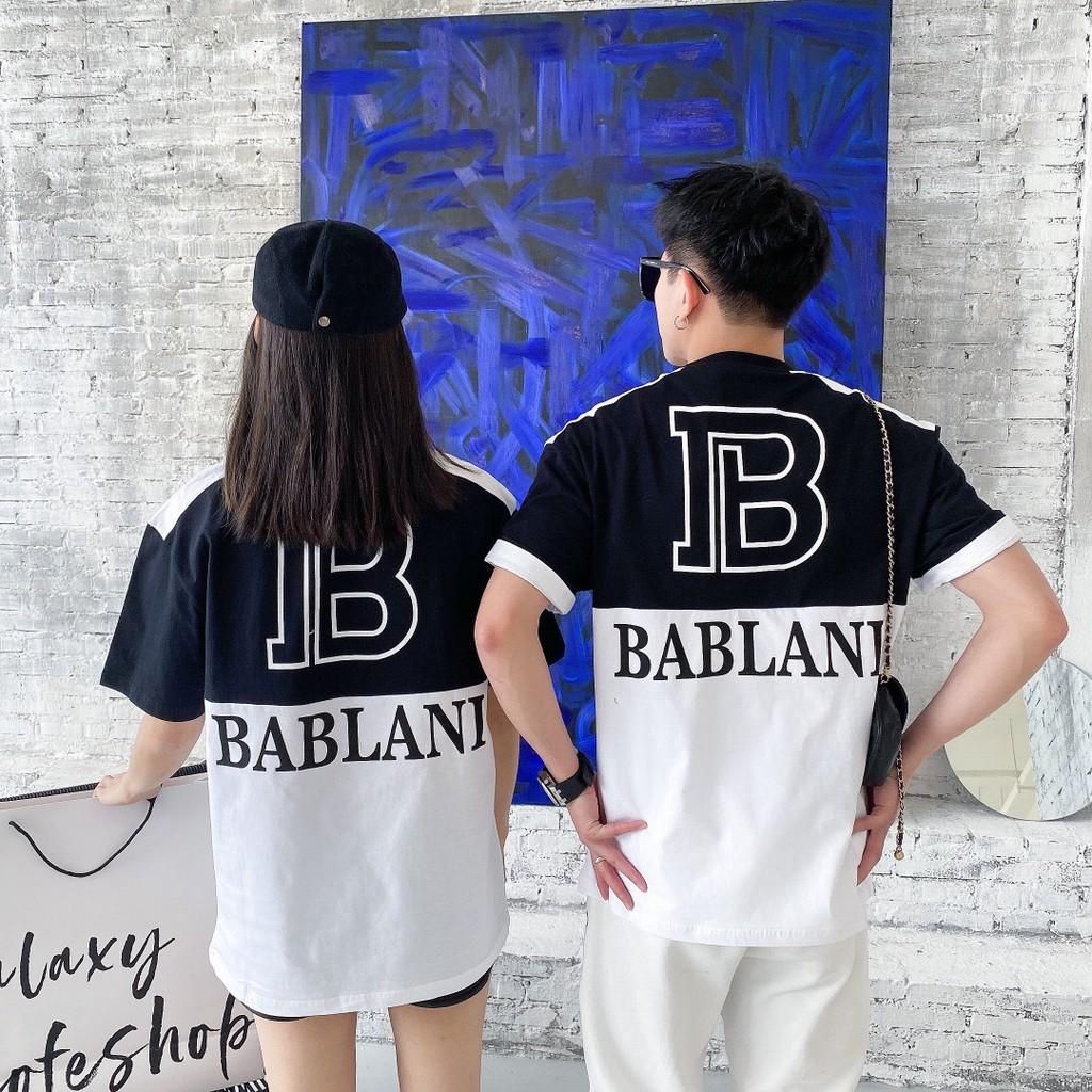 BALMAIN 巴爾曼 爆款經典標誌英文LOGO 短袖上衣 T恤 短T 時尚百搭 男女情侶爆款 时尚休閑百搭潮牌T恤