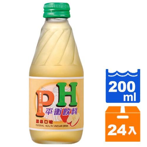 工研 PH平衡飲料-蘋果 200ml (24入)/箱【康鄰超市】