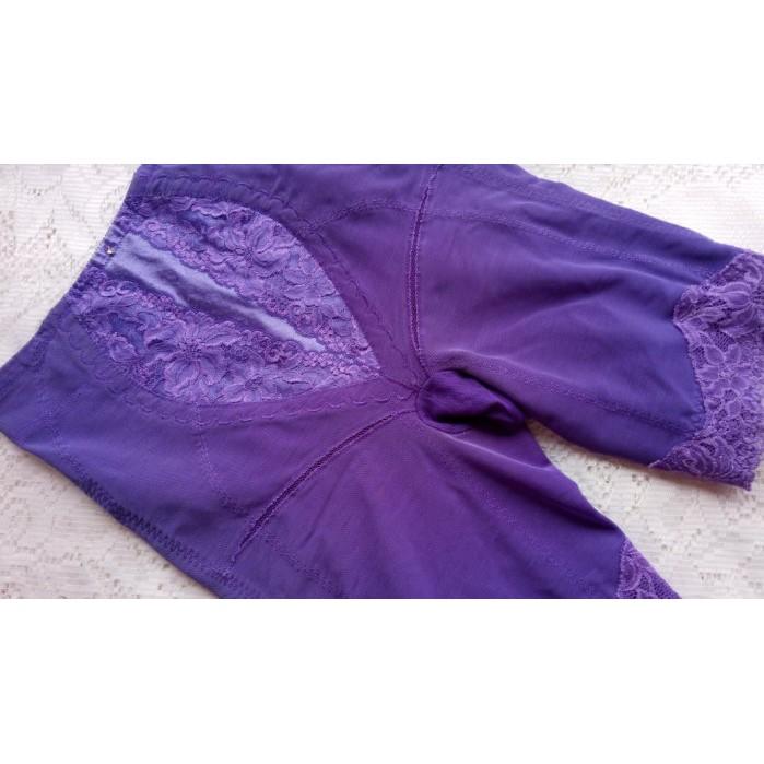 *絕色塑身衣館*9IBI【善美得~紫色調整型束褲】~76號~直購2000元~