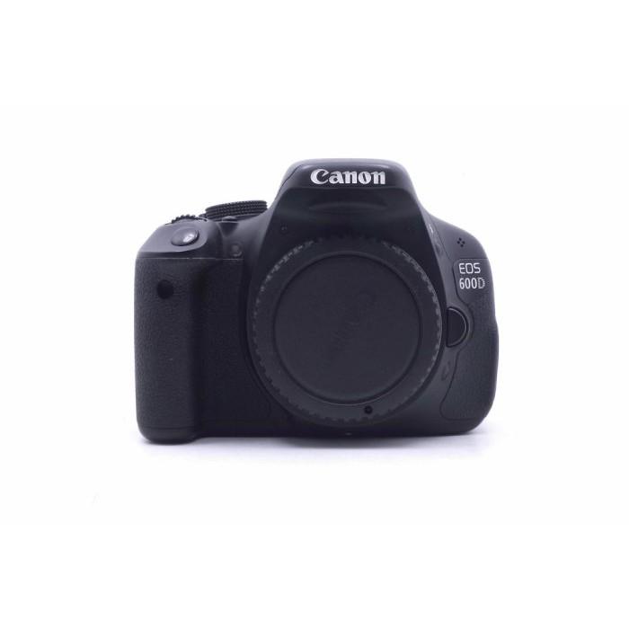 【台中青蘋果3C】Canon EOS 600D 單機身 二手相機單眼相機 APS-C 快門次數約17000 #21202