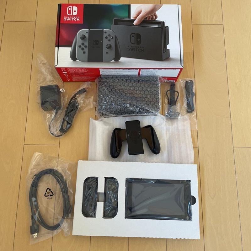 *OLED新機不能改,Nintendo任天堂Switch已改機 已破解第一代主機整套盒裝完整版,附200G記憶卡