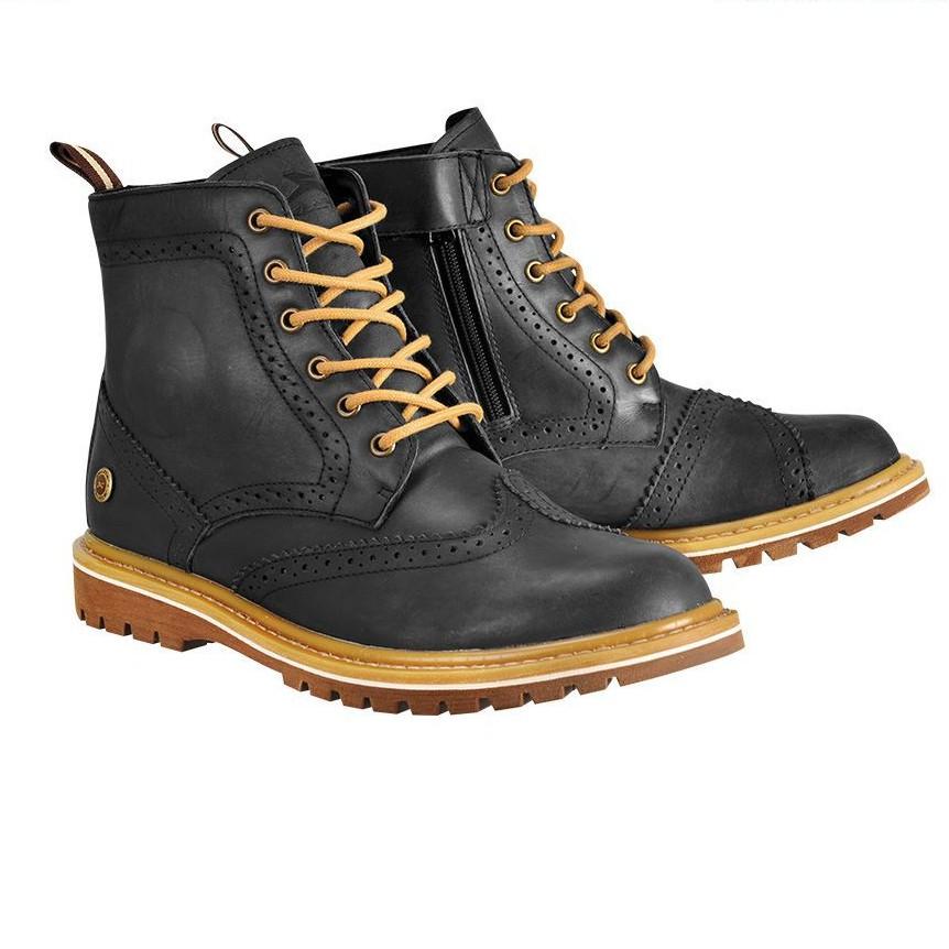 EXUSTAR E-SBT106 ESBT106 黑色 短靴 車靴 防摔靴 賽車靴 短筒靴 休閒鞋