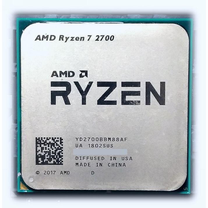 AMD Ryzen 7 2700 CPU (R7 2700)
