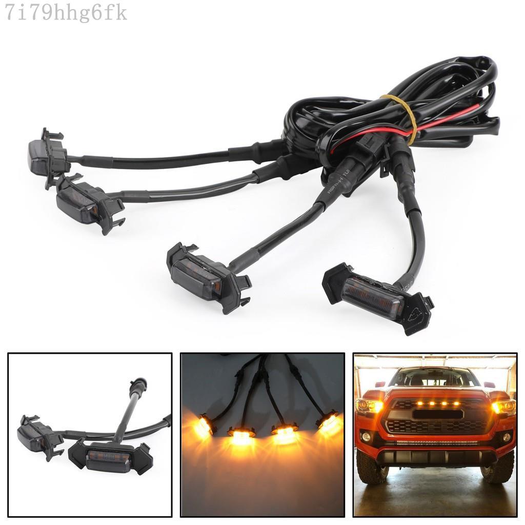 限時下殺/Areyourshop 水箱護罩用LED燈組適用於Toyota Tacoma TRD Pro 201