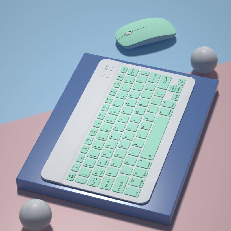 雲谷科技 無線 藍牙 鍵盤 蘋果ipad 蘋果平板ipad便攜無線藍牙迷你小鍵盤華為m6安卓手機榮耀ios通用