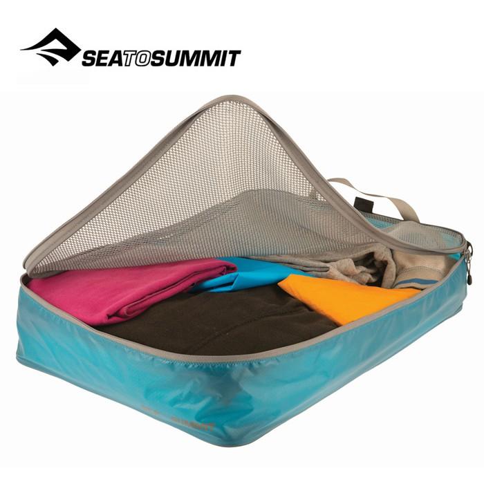 【Sea To Summit 澳洲】旅行打理包 衣物打理包 L號 藍/淺灰 (ATLGMBL)
