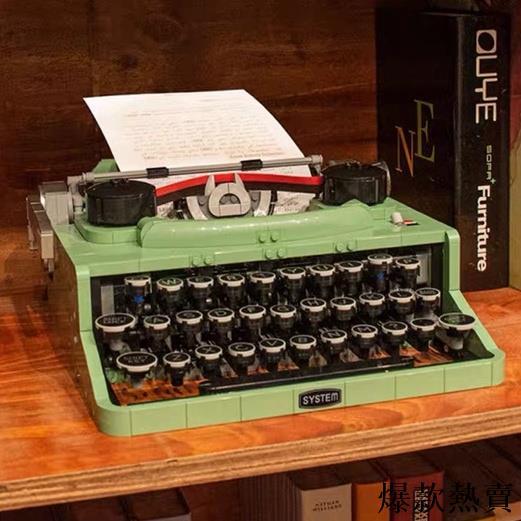 限時#🎊lego樂高打字機 IDEAS 21327 復古積木 相機 攝像機 放映機 拼裝模型積木