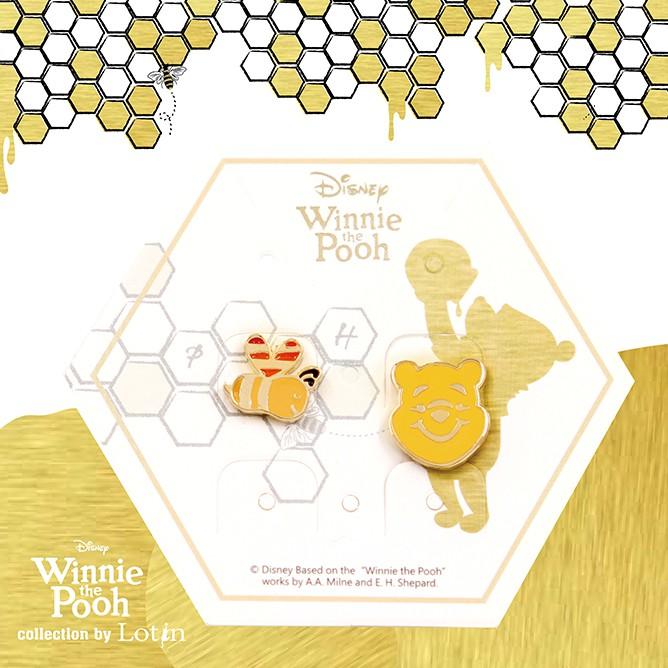 【小熊維尼】 -維尼夾式組合/小蜜蜂款