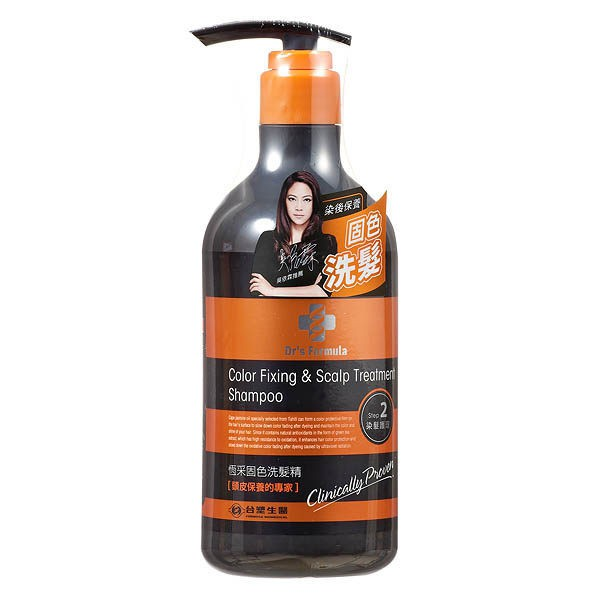 DrsFormula恆采固色洗髮精580g