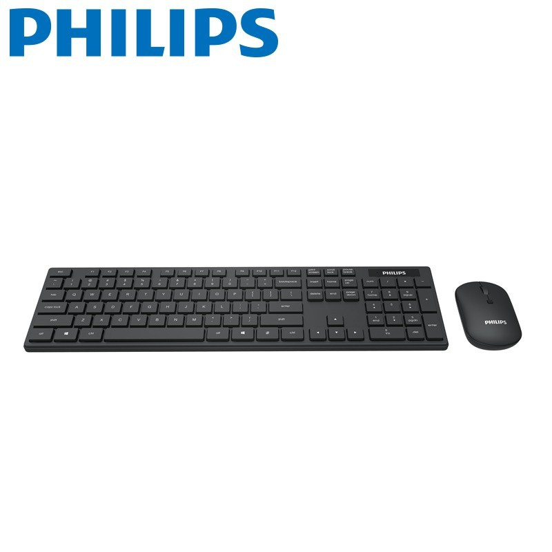PHILIPS 2.4G 無線鍵盤滑鼠組 SPT6103 廠商直送 現貨 宅配免運