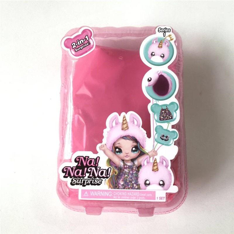 【佳佰酷】2合1驚喜娜娜盲盒娃娃nanana迷糊盲盒芭比娃娃公主過家家兒童玩具