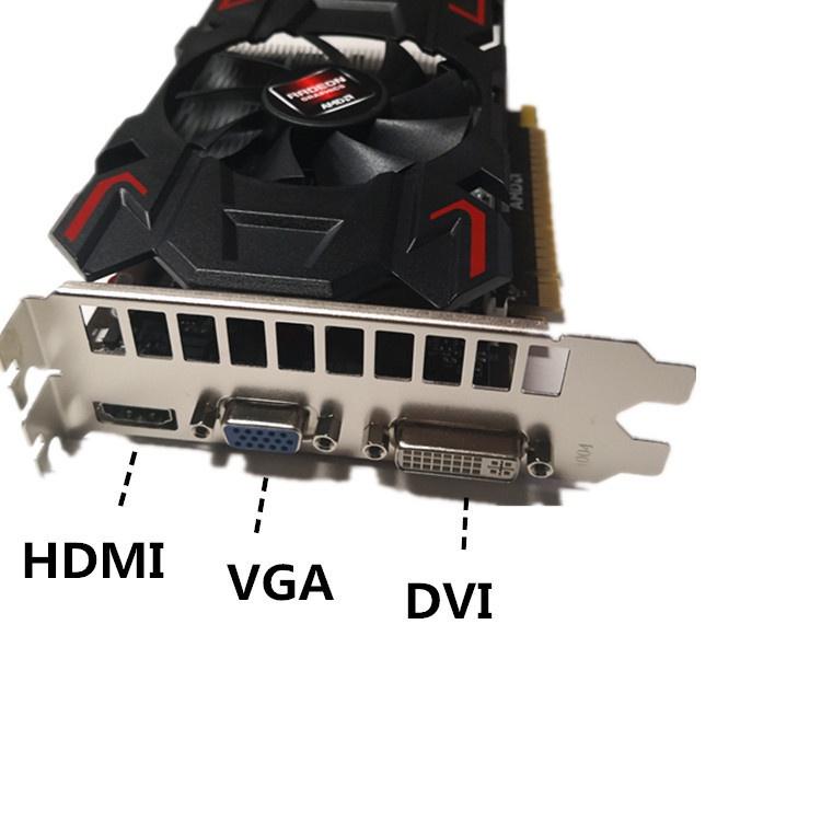 ❤現貨❤ 全新HD7670 d5台式機獨立遊戲AMD顯卡外貿款超6450 5450 610