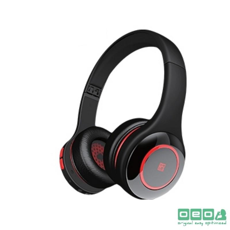 藍芽無線耳機 AIRbeats BTH-01(低調黑中帶紅)