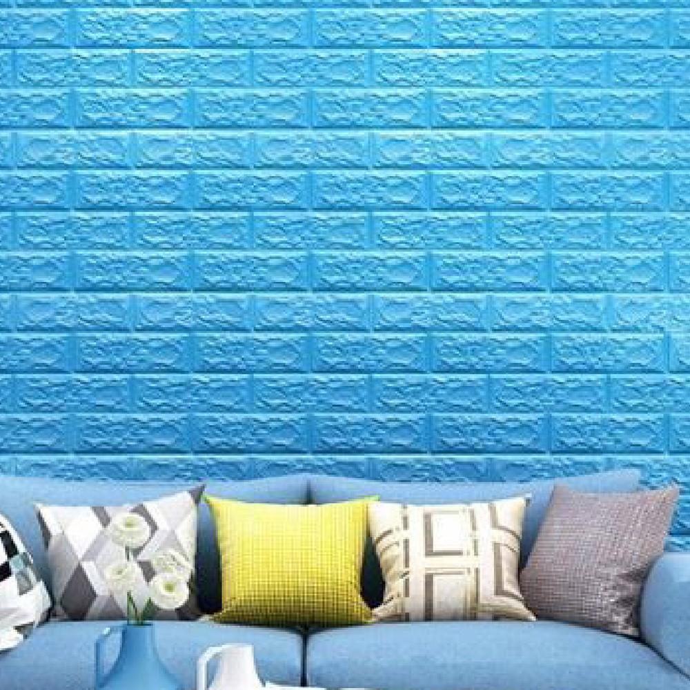 台灣現貨供應 加厚款3d立體壁貼 牆壁貼自黏3d牆貼自黏磚紋隔音 壁紙