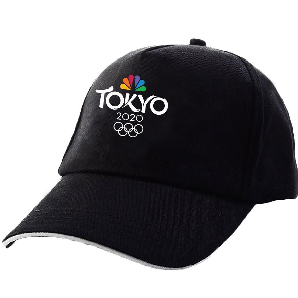 【東京奧運款遮陽帽】百搭遮陽帽奧會運Tokyo情侶鴨舌帽男女2020戶外棒球帽東京運動