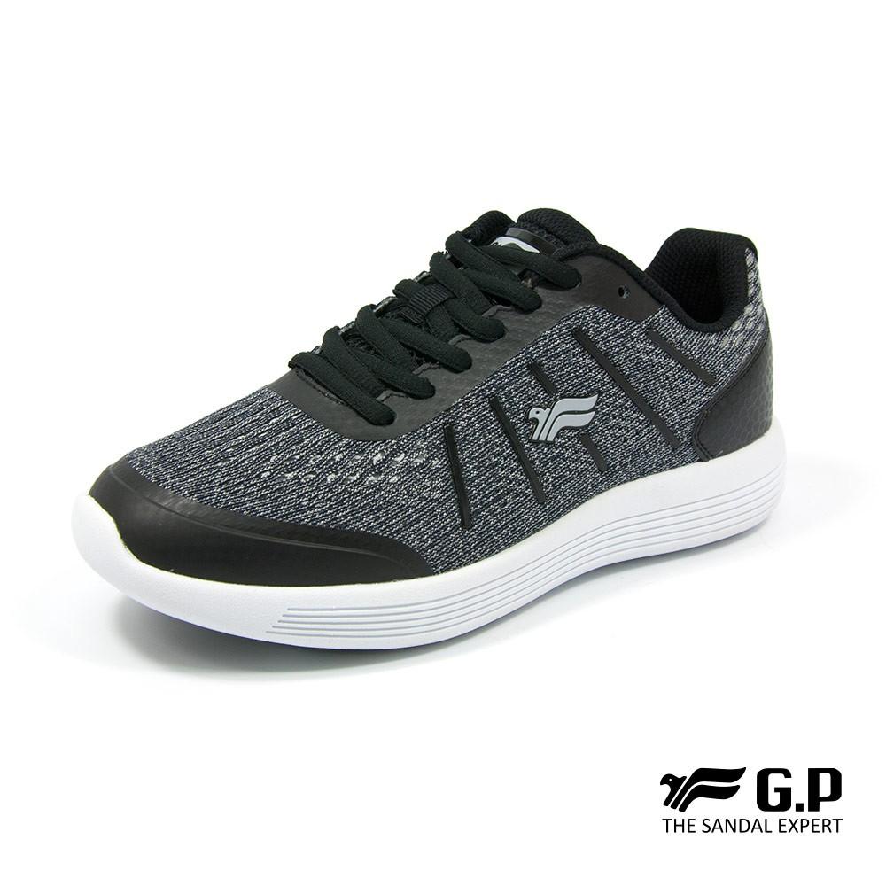 經典簡約休閒舒適輕量運動鞋(P5772W)-黑色/藍色/桃紅(SIZE:36-40)
