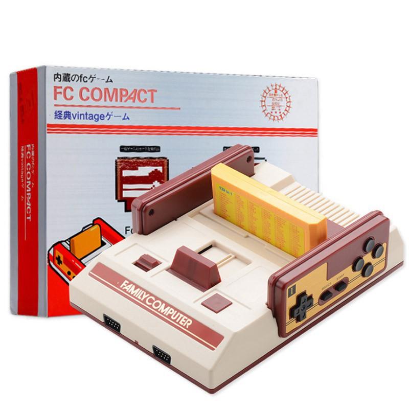 精品:任天堂 插卡電視遊戲機 FC經典紅白機 內建500個遊戲 mini 送132合一遊戲卡 80後