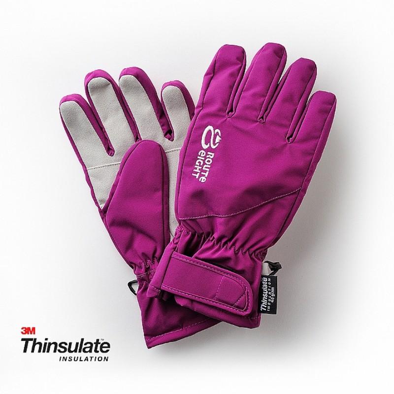 【Route8八號公路】KREATE 3M 防水保暖手套(紫)