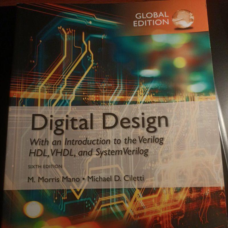 (現貨)Digital design 6e