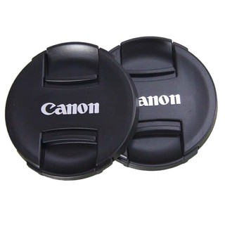 CANON Dslr 鏡頭蓋適用於佳能 760d 60d 70d 80d 18-135 鏡頭前蓋
