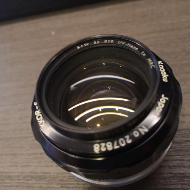 Nikon Nikkor S Auto 55mm F1.2