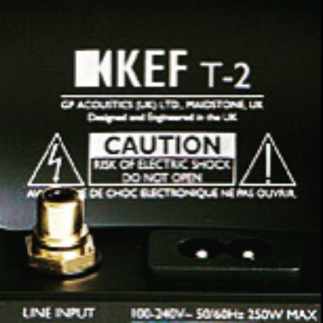 ♡ 薄型設計♡KEF T2 10吋/250W D類. 重低音喇叭