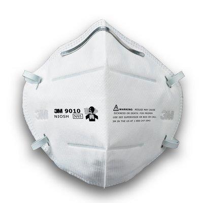 【威威五金】零售1片 全新公司貨 3M 9010 N95 防塵折疊式口罩 可調式鼻梁夾 折疊式工作防塵口罩 摺疊防塵口罩