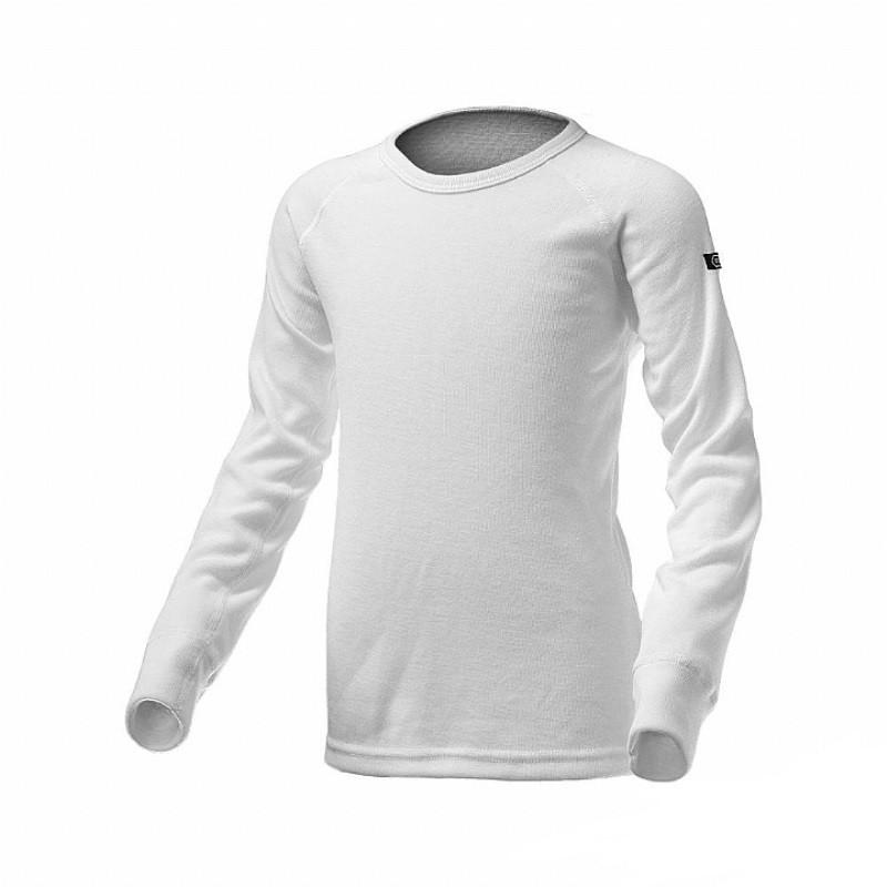 Route8 童 WARM 圓領保暖衣 (白色)[RE851001-WHITE]