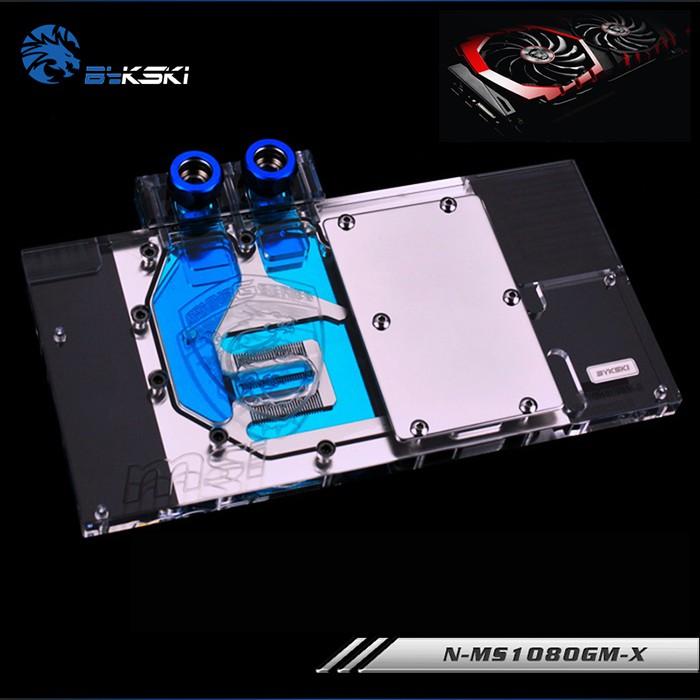 MSI GTX1080 / 1070TI / 1070/1060遊戲X 8G ARMOR的水冷GPU塊使用