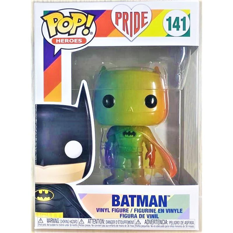 老夆玩具【現貨】FUNKO POP 彩虹系列 Pride 2020 #141 蝙蝠俠 BATMAN