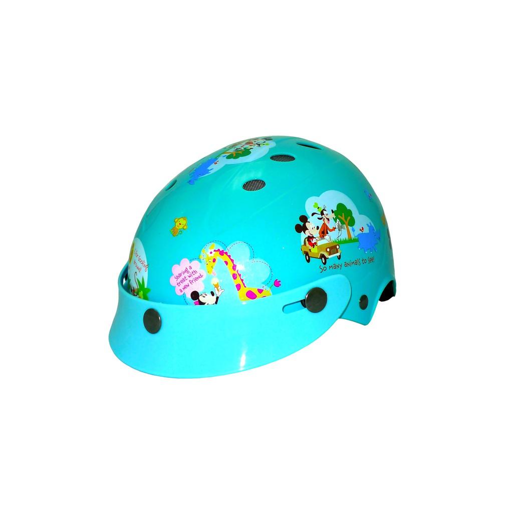 智同 迪士尼 可調整帶洞洞帽 童帽 兒童安全帽 小小童 花米奇
