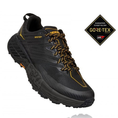 Hoka | Speedgoat 4 GTX for Men (Anthracite) 越野跑鞋 運動鞋