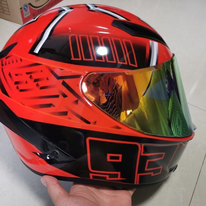 東金靚淘運動 SHOEI X14 紅螞蟻頭盔 全新實拍照片