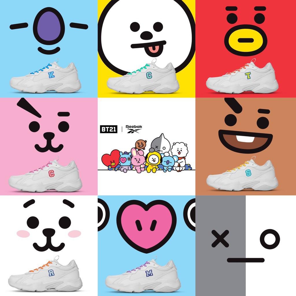 韓國限定 預購 REEBOK TURBO IMPULSEx BT21 聯名老爹鞋