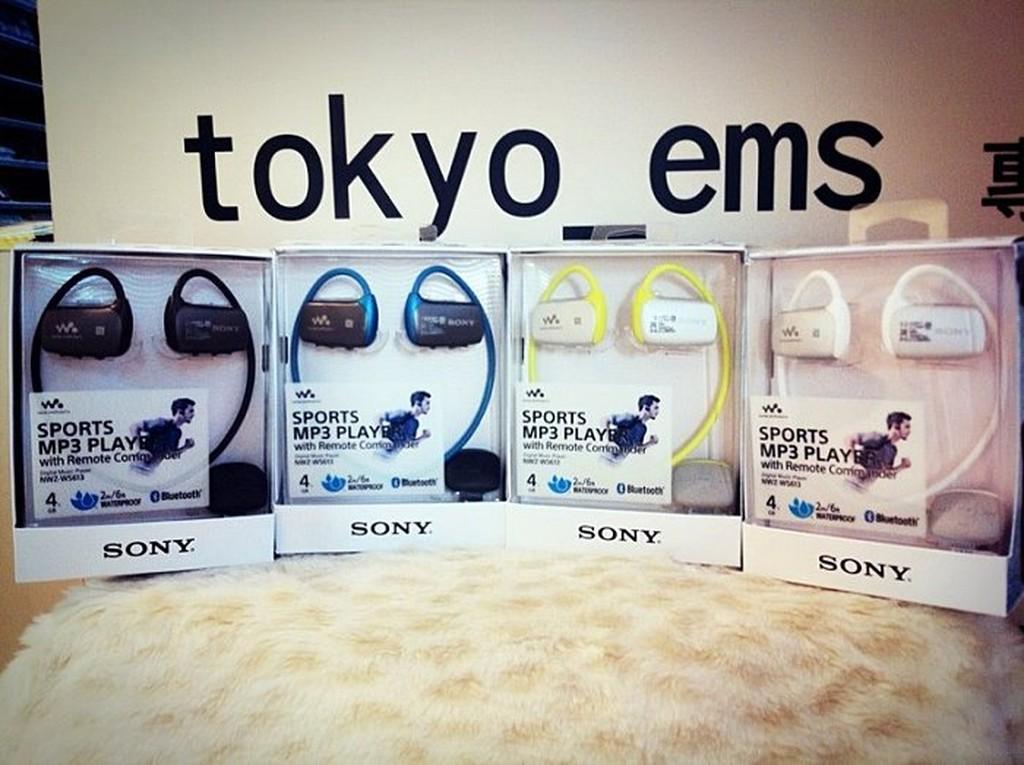 缺貨 東京快遞耳機館 送限量HIGH包 SONY NWZ-WS613 NFC 藍芽 附戒指環遙控器 新型游泳專用耳塞