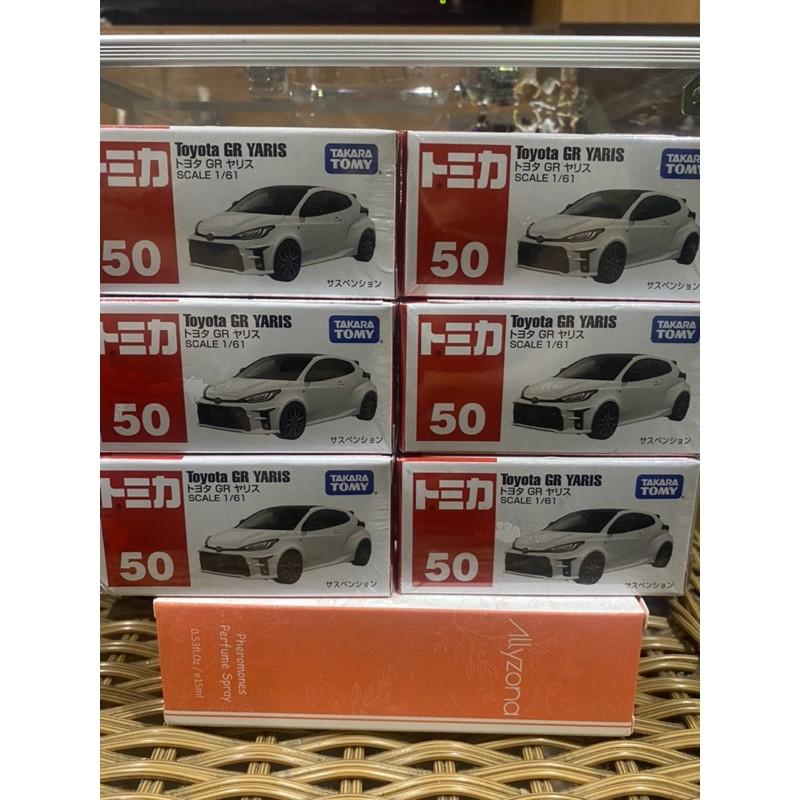 Tomica 50 TOYOTA GR YARIS 多美 豐田 小鴨 暴力鴨 模型車 小汽車