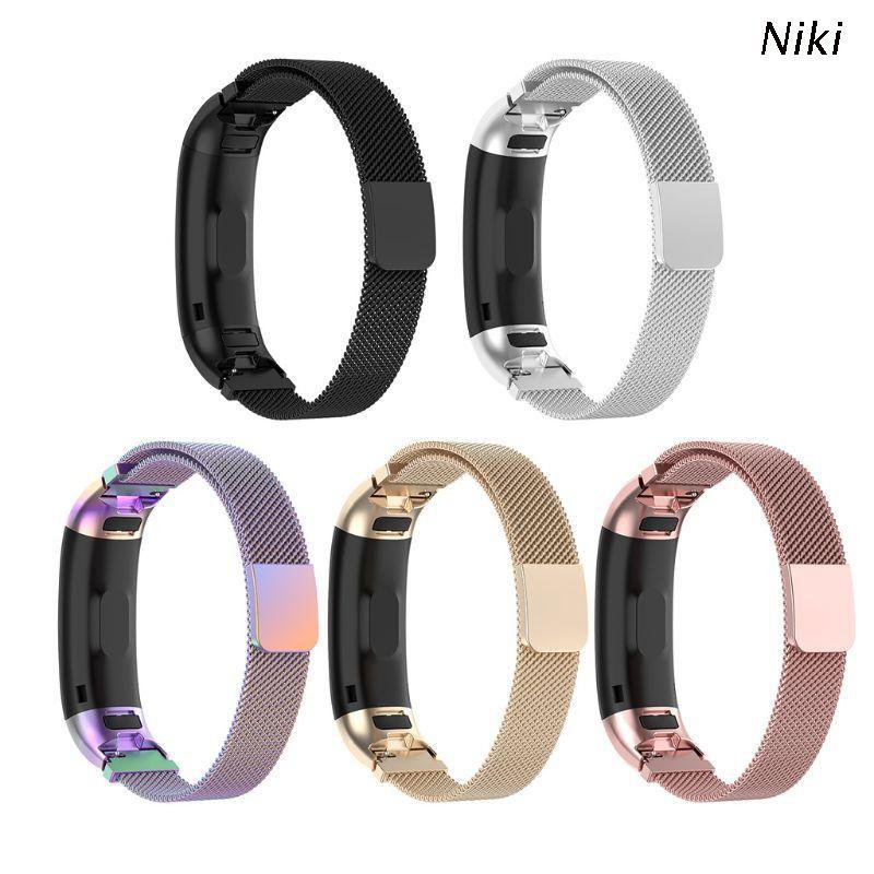 Niki 華為Band 3 / Band3 Pro TER-B09 TER-B29手鍊的磁性不銹鋼更換手錶帶