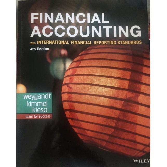 financial accounting 4e財務會計 9.9成新