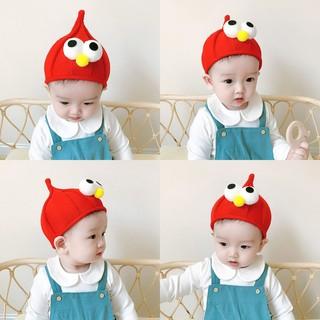 童帽寶寶帽子嬰兒保暖套頭帽男童護耳毛線帽女童超萌針織尖尖帽潮